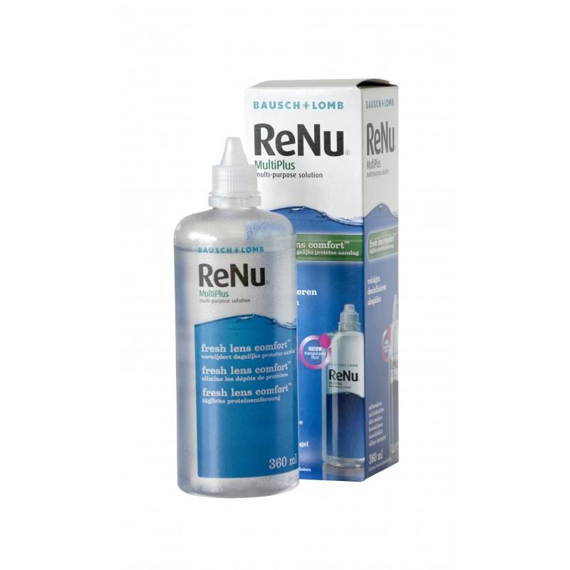 Renu Multiplus Fresh Lens Comfort 360 Ml Lentilles Be